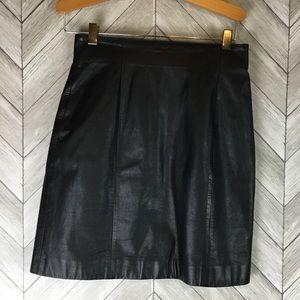 Wilson's Leather Mini Skirt size 4